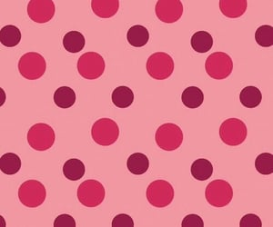 background, dots, and pink image