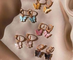 aesthetic, earrings, and girlboss image