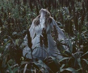 southern gothic, dark, and girl image