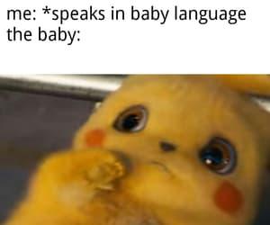 funny, meme, and pikachu image