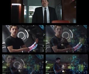 iron man, spiderman, and endgame image