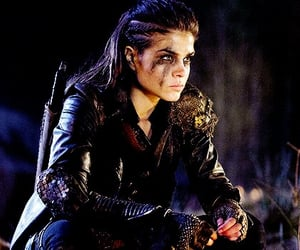 octavia, the 100, and marie avgeropoulos image
