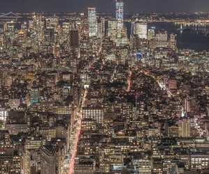 buildings, citylights, and cityscape image