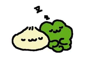 drawing, dumpling, and frog image