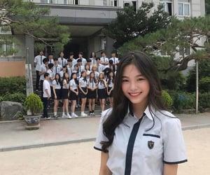 aesthetic, korea, and school image