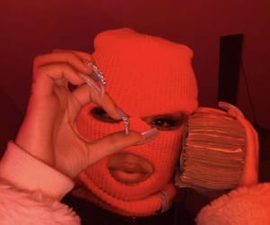 money, gang, and bitch image