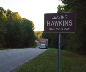 hawkins and stranger things image