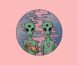 alien, tumblr, and background image