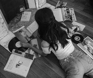 girl, aesthetic, and magazines image