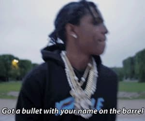 bullet, rap, and gif image