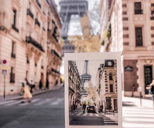 eiffel tower, france, and photo image