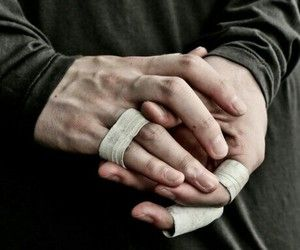boy and hands image