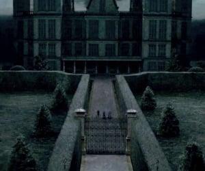 slytherin, malfoy, and malfoy manor image