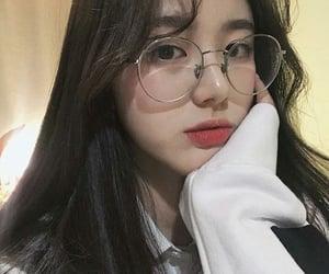 aesthetic, korean, and selca image