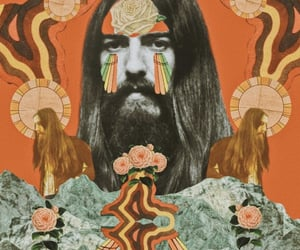 aesthetic, george harrison, and psychedelic image