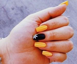 acrylic, manicure, and nail polish image