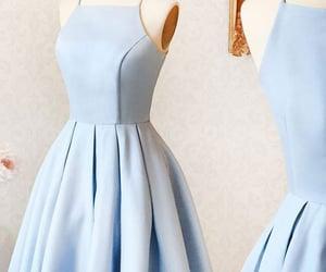 cute prom dress, light blue prom dress, and light blue prom dresses image