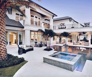 daily, house, and palmtrees image