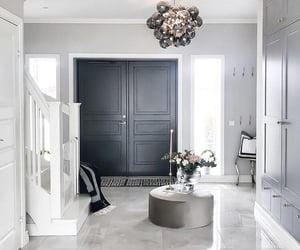 decor, entryway, and home image