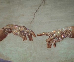 aesthetic, sparkle, and glitter image