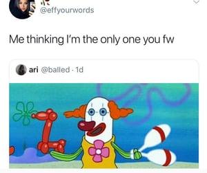 broken, love, and clown image