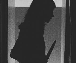girl, knife, and kill image