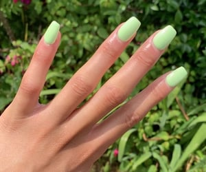 green, summer nails, and nails image