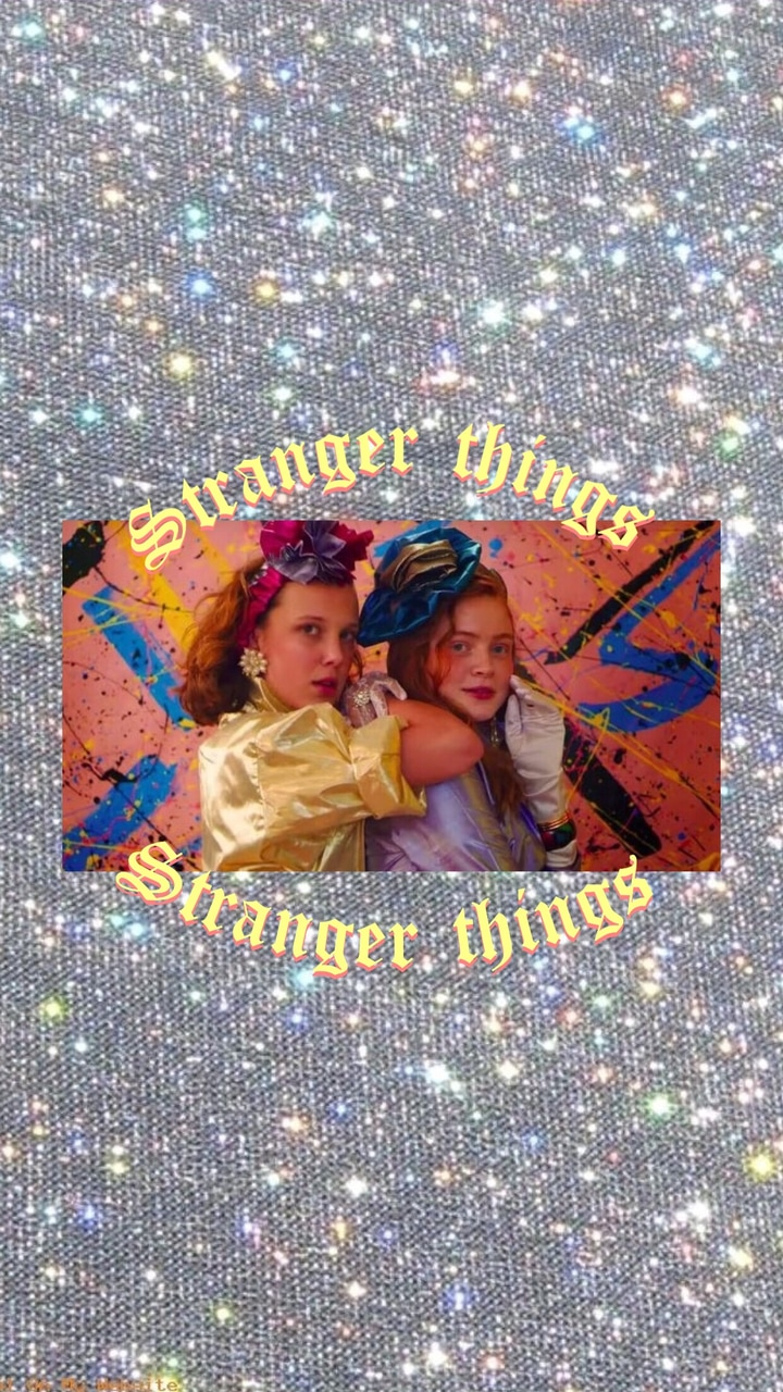 Stranger Things 3 Aesthetic Wallpaper Eleven And Max