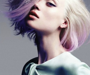 amazing, dyed hair, and my favorite image