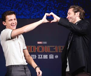 spiderman, tom holland, and jake gyllenhaal image