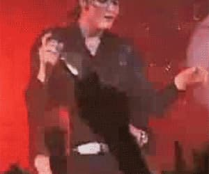 gerard way, gif, and Hot image