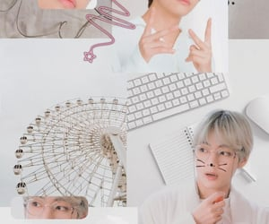aesthetic, white, and bts image