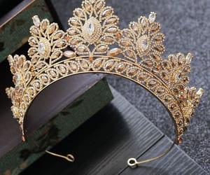 rhinestone, wedding accessories 2019, and tiara image