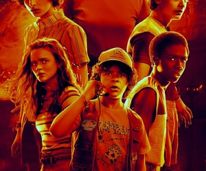 dustin, eleven, and lucas image