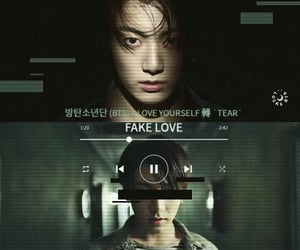 wallpaper, fake love, and bts image