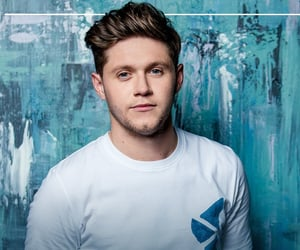 blue, white, and niall image