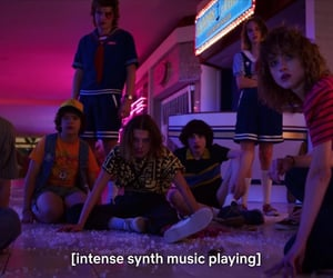 dustin, eleven, and music image