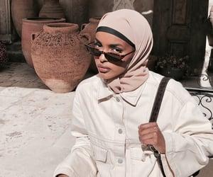 beige, hijab, and girls image