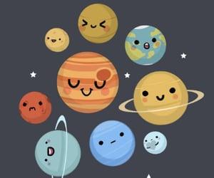 galaxy, nasa, and planets image