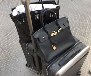 bags, luggage, and travel image