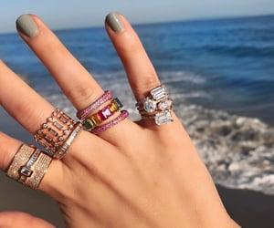 accessories, bracelet, and diamonds image
