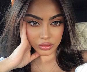 arabs, brunette, and brunette girl image