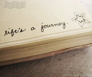 life, journey, and quotes image