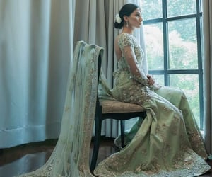 bridal, dress, and pakistan image