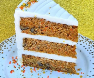 bakery, cake, and carrot cake image