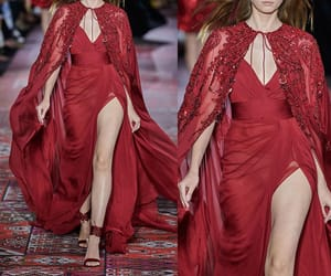 beauty, catwalk, and Couture image