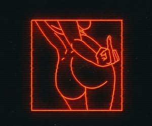 aesthetic, booty, and girl image
