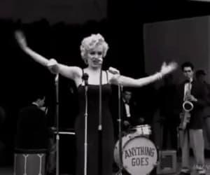 gif, Marilyn Monroe, and korea 1954 image