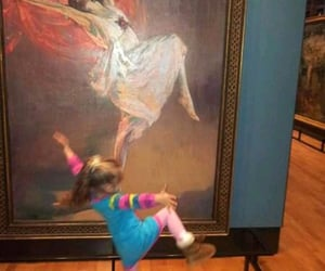 art, dance, and kids image