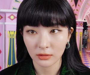 eyes, red velvet, and low quality image